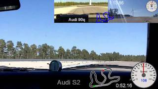 S2 Coupe spins, Audi 90q and A8 STACC 2011