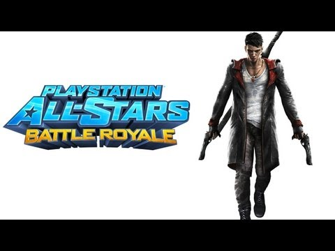 PlayStation All Stars Battle Royale walkthrough - part 1 dante story devil may cry DMC series