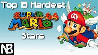 Top 15 Hardest Super Mario 64 Stars!! (Based off my 8-9 year old Perspective)