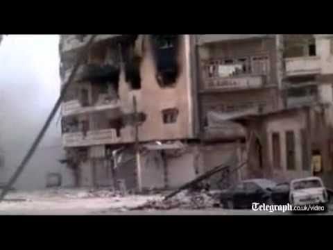Homs shelled on third day of truce