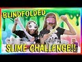 Download BLINDFOLDED SLIME CHALLENGE | SABOTAGE! | We Are The Davises in Mp3, Mp4 and 3GP