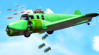 NEW INSANE WAR PLANE IN GTA 5! (GTA 5 DLC)