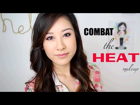 Combat the Heat! Makeup Look (great for oily skin)