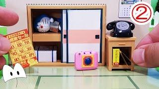 Miniature Toys❤ドラえもん のび太の 毎日が大冒険②アンパンマン アニメ&おもちゃ