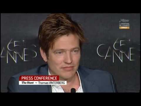 Mads Mikkelsen- Jagten/The Hunt  Press Conference pt 2