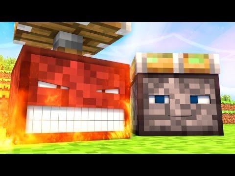 Talking Blocks: Pistons (Minecraft Animation)