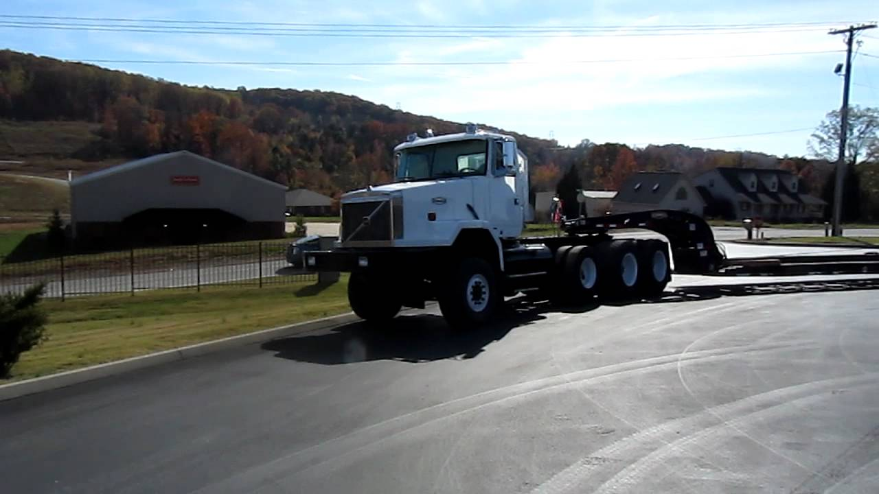 Heavy Spec Volvo Autocar 6x6 Tractor Pull-Out Truck - YouTube