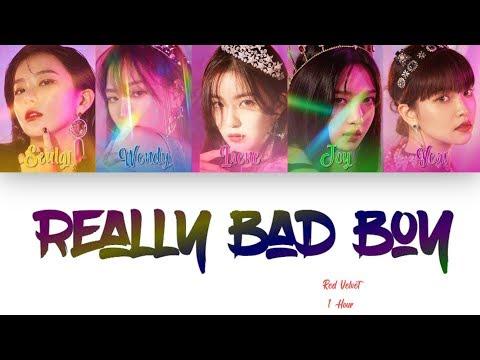 [1 시간 / 1 HOUR LOOP] Red Velvet 레드벨벳 'RBB (Really Bad Boy)' - Color Coded Lyrics
