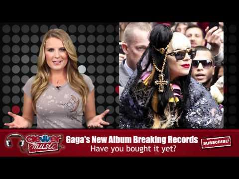 Lady Gaga 'Born This Way' Highest First-Week Sales in a Decade