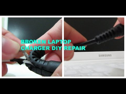 DIY: HOW TO FIX YOUR BROKEN LAPTOP CHARGER