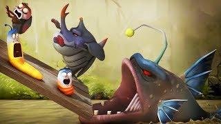 LARVA - SHARK ATTACK   Cartoon Movie   Cartoons For Children   Larva Cartoon   LARVA Official