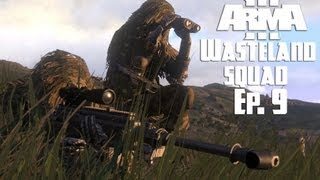 Arma 3 - Wasteland Squad - Ep. 9 - The Hunt For Water & Food