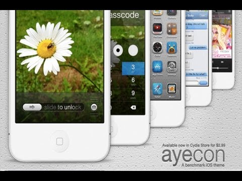 Best iPhone Themes: Ayecon