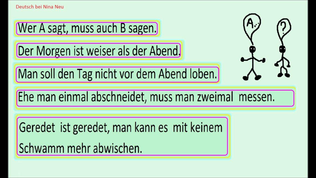 Цитаты на немецком про еду