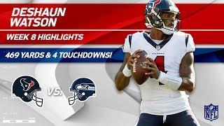 Deshaun Watson Shines w/ 469 Total Yards & 4 TDs | Texans vs. Seahawks | Wk 8 Player Highlights