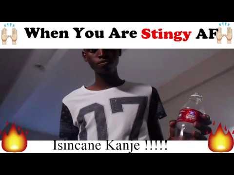 When You Are Stingy AF!! Mzansi's Funny Video by HashTag Indakazo thumbnail