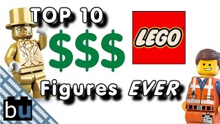 Top 10 Most Expensive LEGO Minifigure EVER!