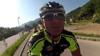 Cycling from Sarajevo to Barcelona 2300km in 22 days