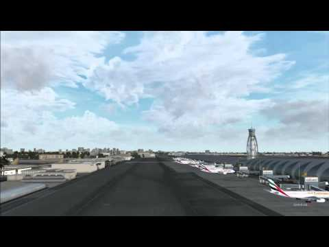 FlyTampa Dubai : Terminal and Traffic at OMDB