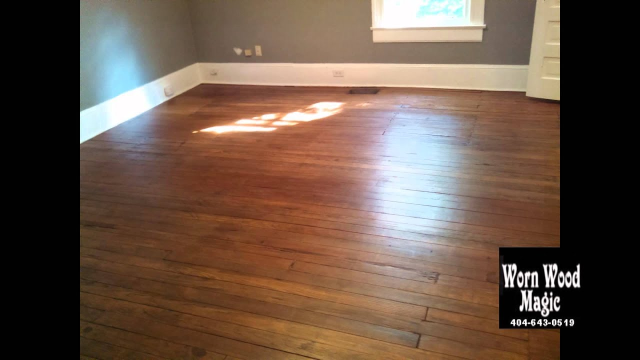 Wood Floor Refinishing Inman Park Candler Park Atlanta