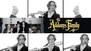 The Addams Family Theme Song - Flute Cover