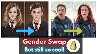 21 Movie Characters Whose Looks Still Slay, Even After We Swapped Their Gender (WITH A BONUS)