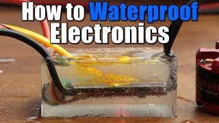 How to Waterproof Electronics || Nail Polish, Silicone, Potting Compound
