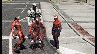 GTA 5 - Cuộc chiến của các người nhện - Venom và Carnage | GHTG