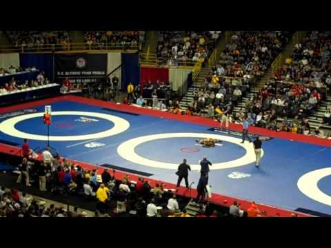 Jordan Burroughs vs. Andrew Howe 2012 Olympic Team Trials