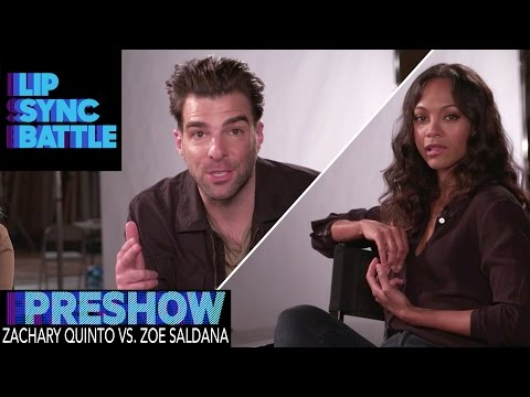 Zoe Saldana vs. Zachary Quinto (Preshow from Guys Choice: Perfect 10) | Lip Sync Battle