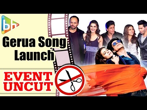 Gerua OFFICIAL Song Launch | Shahrukh Khan | Kajol | Kriti Sanon | Varun Dhawan