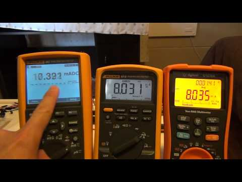 Agilent U1272A vs Fluke 87-V: Display Update Speed