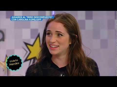 Carolina Kopelioff JUGANDO al MIMO descompuesto ESPN Redes