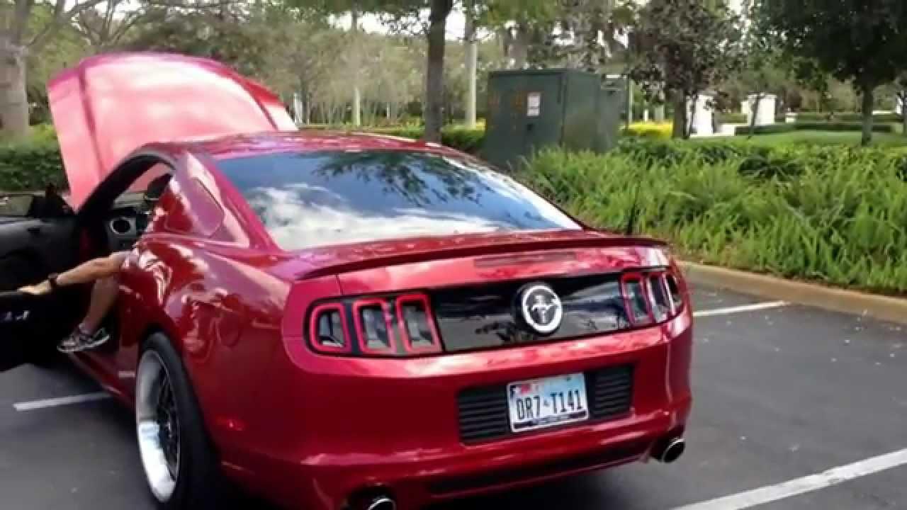 Sick 2013 Mustang V6 Youtube