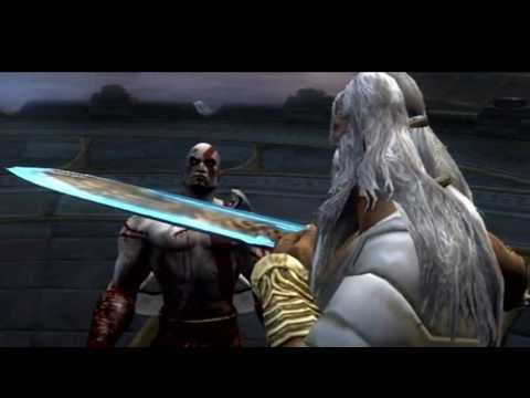The Blade Of Olympus -O- God God Of War Blade Of Olympus