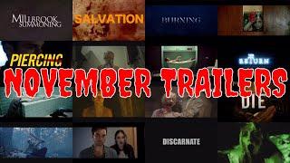 Best Horror Trailers from November 2018