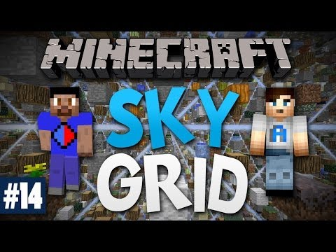 Minecraft SKY GRID #14 with Vikkstar & Ali A (Minecraft Skygrid Survival)