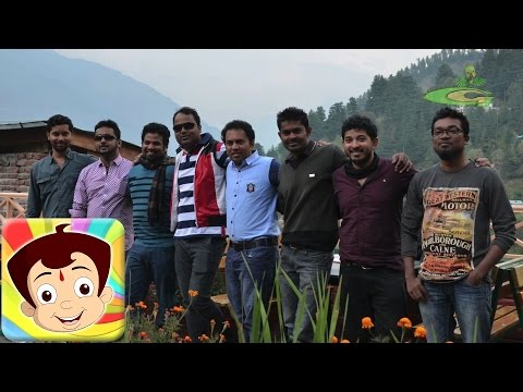 Team Chhota Bheems visit to Himalayas (Manali)