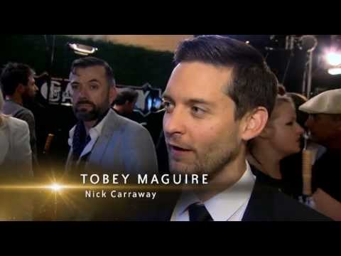The Great Gatsby Red Carpet Feature - Baz Luhrmann / Tobey Maguire / Carey Mulligan