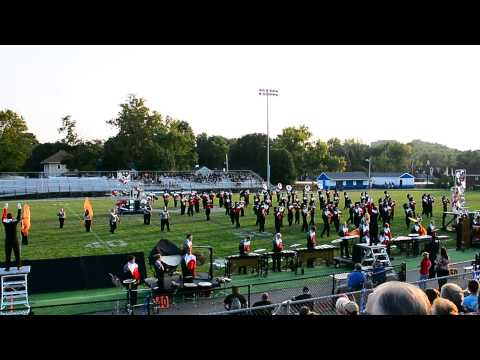 "Stebbins High School Marching band performing Metallica,  ""Nothing Else Matters"""