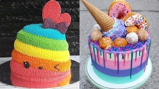Best Satisfying Cake Decorating Compilation #124 💛 Most Amazing Cakes Styles & Ideas 2018