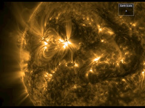 Quake Swarm, Space Weather | S0 News February 1, 2015