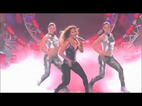 Jennifer Lopez - Dance Again ft. Pitbull - Live at American Idol
