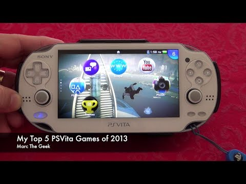 My Top 5 PSVita Games for 2013