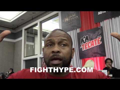 ROY JONES JR. SAYS NO WAY CONOR MCGREGOR EVER BEATS FLOYD MAYWEATHER IN BOXING; TALK MMA VS. BOXING