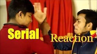 Hindi serial reaction..Bangla funny video