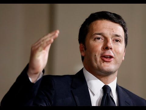 All About Italy Prime Minister Matteo Renzi