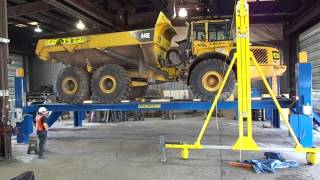 Heavy Duty PK-125-4 125,000Lb Capacity Truck Lift 866-607-4022 naautoequipment.com