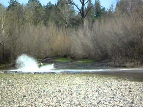 10 foot Aluminum Jet Boat. on the Rogue River in Oregon