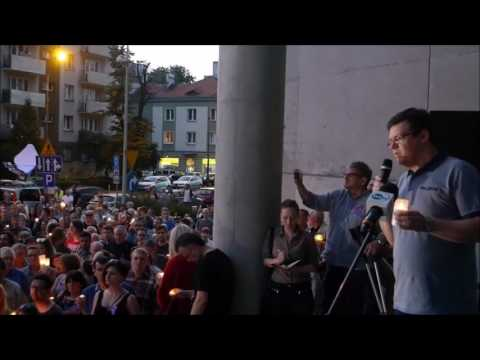 Manifestacja Przed Sądem Okręgowym W Katowicach